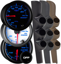 1998-2002 Dodge Ram Cummins Custom 7 Color Gauge Package