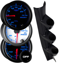 2013-2020 Subaru BRZ Custom 7 Color Gauge Package Gallery