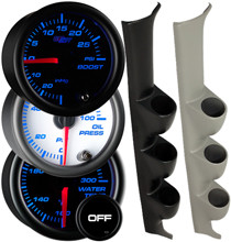 1996-2000 Honda Civic Custom 7 Color Gauge Package Gallery