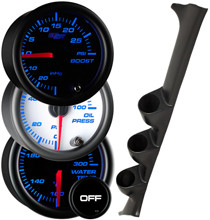 1993-2000 Subaru Impreza RHD Custom 7 Color Gauge Package Gallery
