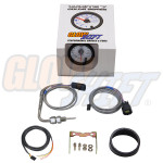 GlowShift White 7 Color 1500° F Pyrometer EGT Gauge Unboxed