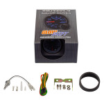 GlowShift Tinted 7 Color Celsius Oil Temperature Gauge Unboxed