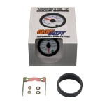 GlowShift White 7 Color 200 PSI Air Suspension Gauge Unboxed