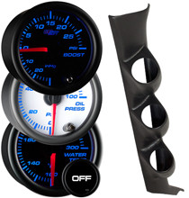 1993-1995 Mazda RX-7 Custom 7 Color Gauge Package Gallery