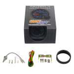 GlowShift Tinted 7 Color Transmission Temperature Gauge Unboxed
