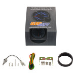 GlowShift Tinted 7 Color Oil Temperature Gauge Unboxed