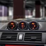 GlowShift 04-09 Mazda 3 Triple Dash Pod Installed