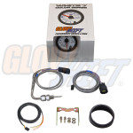 GlowShift White 7 Color 2400° F Exhaust Gas Temperature Gauge Unboxed
