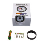GlowShift White 7 Color Fuel Level Gauge Unboxed
