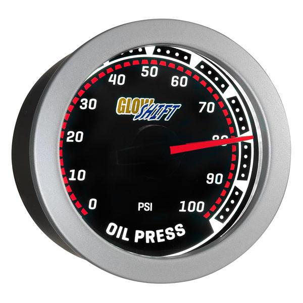 Tinted 100 PSI Oil Pressure Gauge