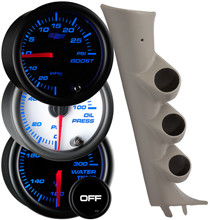 2007-2013 Chevrolet Silverado Duramax Custom 7 Color Gauge Package Gallery