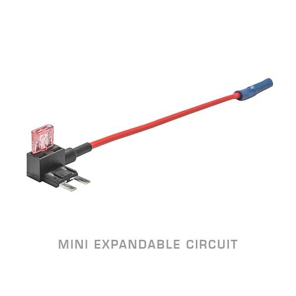 Mini Expandable Circuit & 4 Amp Fuse on