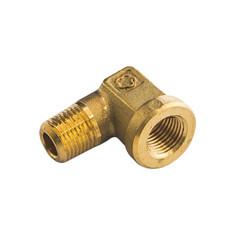 1/8-27 NPT Female to Male 90 Degree Elbow Thread Adapter
