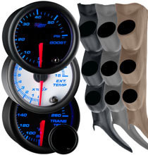 2000-2006 GMC Sierra Duramax Custom 7 Color Gauge Package Gallery