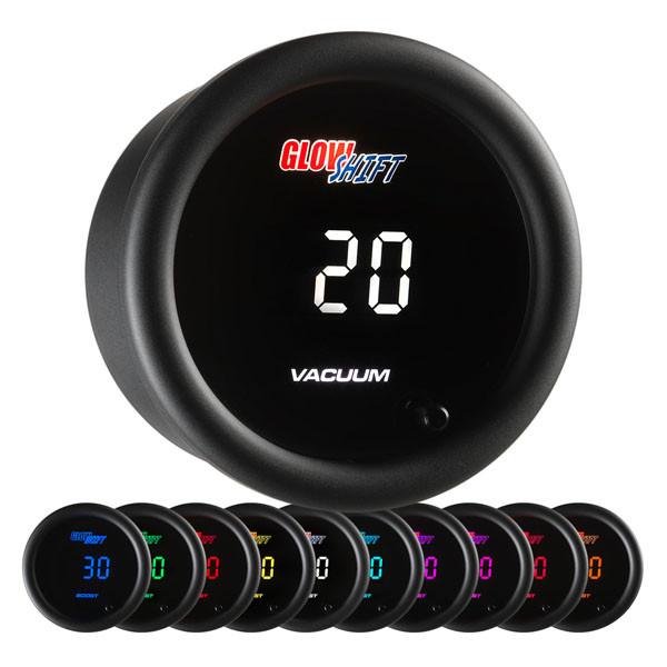 10 Color Digital Vacuum Gauge