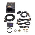 GlowShift 10 Color Digital Wideband Air/Fuel Ratio Gauge Unboxed
