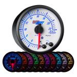 White Elite 10 Color 2200° F Exhaust Gas Temperature Gauge