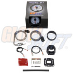 GlowShift White Elite 10 Color 2200 Degree F Exhaust Gas Temperature Gauge Unboxed