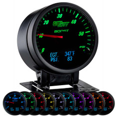 3in1 Black Face Boost w/ Digital EGT & Pressure Gauge