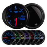 Tinted 7 Color 30,000 PSI Fuel Rail Pressure Gauge