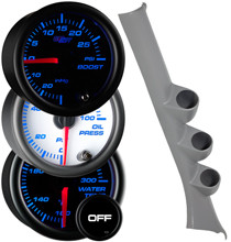 2006-2011 Honda Civic Coupe Custom 7 Color Gauge Package Gallery