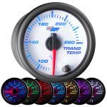 White 7 Color Transmission Temperature Gauge
