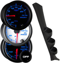 1994-1997 Honda Accord Custom 7 Color Gauge Package Thumb