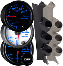 2008-2010 Ford Super Duty Power Stroke Custom 7 Color Gauge Package