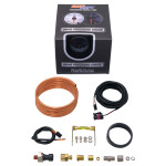 GlowShift Tinted 7 Color 60 PSI Exhaust Drive Pressure Gauge Unboxed