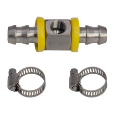"3/8"" Fuel Line Fuel Pressure T-Fitting Adapter"