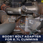 Boost Bolt Thread Adapter for 6 7L Cummins