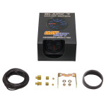 GlowShift Black 7 Color 35 PSI Boost Gauge Unboxed