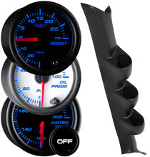 2001-2006 Mitsubishi Lancer Custom 7 Color Gauge Package Gallery
