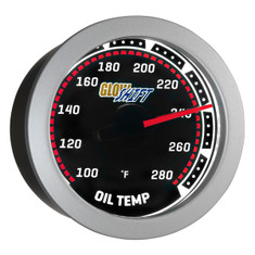 Tinted 280° F Oil Temperature Gauge