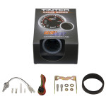 GlowShift Tinted Oil Temperature Gauge Unboxed