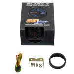 GlowShift Black 7 Color Tachometer Gauge Unboxed