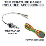 Included Accessories with Temperature Gauges