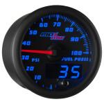 Black & Blue MaxTow 100 PSI Fuel Pressure Gauge