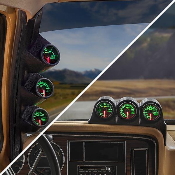 93 dodge truck speaker wiring 1986 1993 dodge ram cummins custom 7 color gauge package  1986 1993 dodge ram cummins custom 7