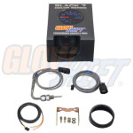 GlowShift Black 7 Color 1500° F Pyrometer EGT Gauge Unboxed
