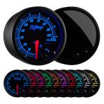 Elite 10 Color Oil Pressure Gauge