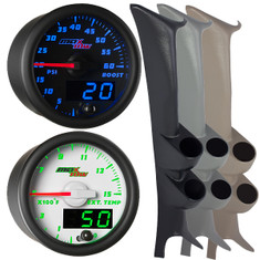 1999-2007 Ford Super Duty Power Stroke Full Size Dual Custom MaxTow Gauge Package Gallery