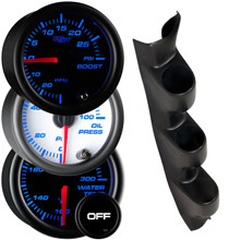 2002-2008 Nissan 350Z Custom 7 Color Gauge Package Gallery