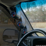 2000-2006 Chevrolet Avalanche Triple Pillar Pod Side View Installed