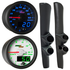 1998-2002 Dodge Ram Cummins Full Size Dual Custom MaxTow Gauge Package Gallery
