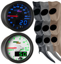 2000-2006 GMC Sierra Duramax Custom MaxTow Gauge Package Gallery