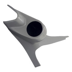 1999-2002 Ford Super Duty Power Stroke 3in1 60mm Gray Gauge Pod