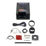 GlowShift Elite 10 Color 260°F Transmission Temperature Gauge Unboxed