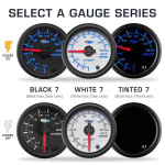 Select Black 7, White 7 or Tinted 7 Color Gauges