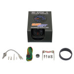 GlowShift Black 7 Color Differential Temperature Gauge Unboxed